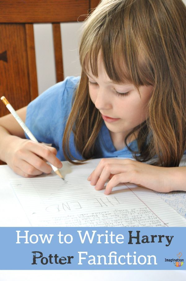 Harry Potter fanfiction is a blast for kids to write -- especially if they write with a friend!