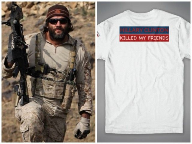 Former Navy SEAL Tej Gill spoke to Breitbart News Daily to remind people of his effort regarding Hillary Clinton.