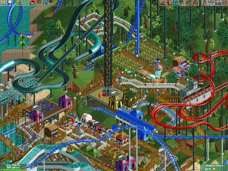 Roller Coaster Tycoon 2