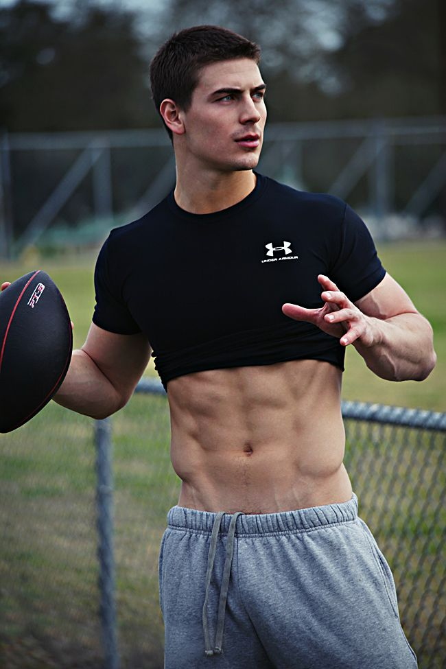 image Gay american football guys jack off with