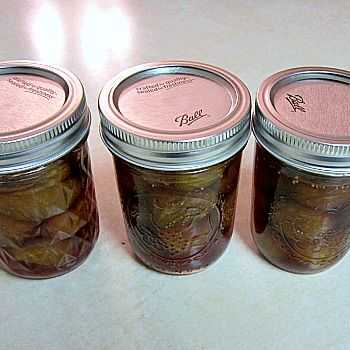Crock-Pot Fig Preserves Recipe via CrockPotLadies.com