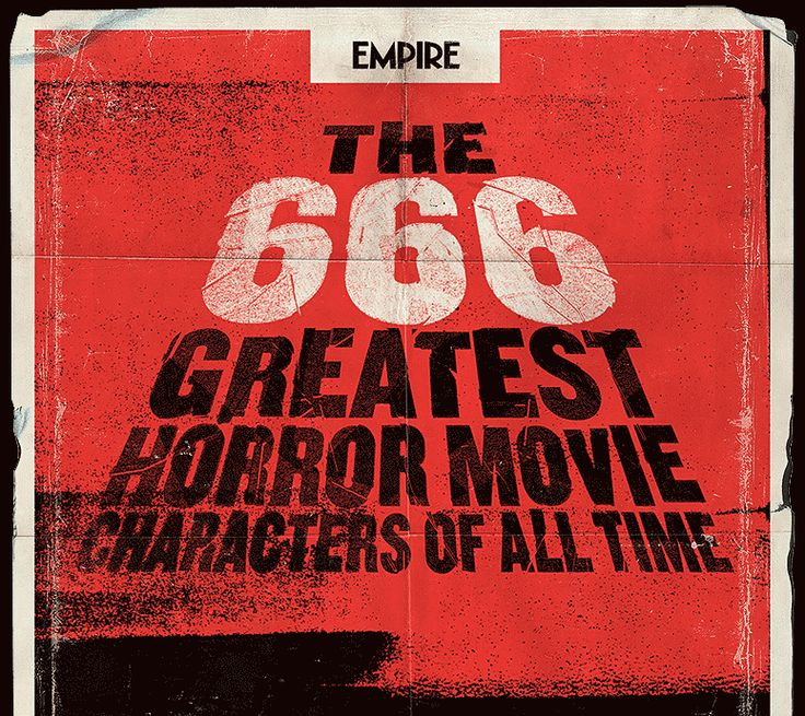The 666 Greatest Horror Characters Of All Time