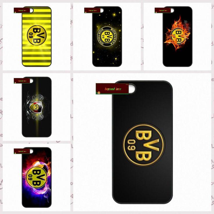 Ucuz Borussia dortmund bvb09 fc logo kapak durumda iphone 4 4 s 5 5 s 5c için 6 6 s artı samsung galaxy s3 s4 mini s5 s6 note 2 3 4 DE0045,  7 tl