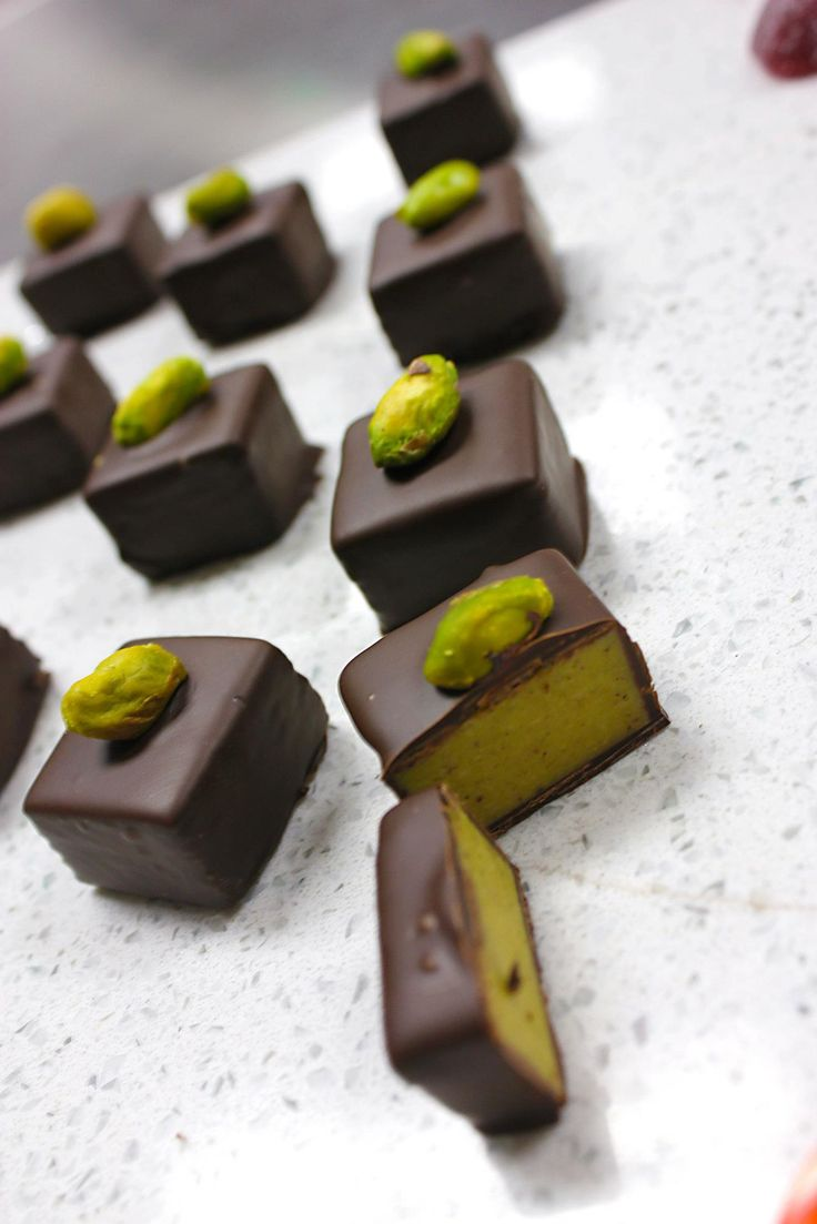 Pistachio Marzipan - pinning for the shape idea. I'd rather do Cherry than Pistachio!