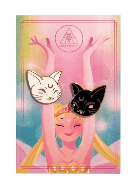 Artemis & Luna Enamel Pin Set / Cult Fiction Press