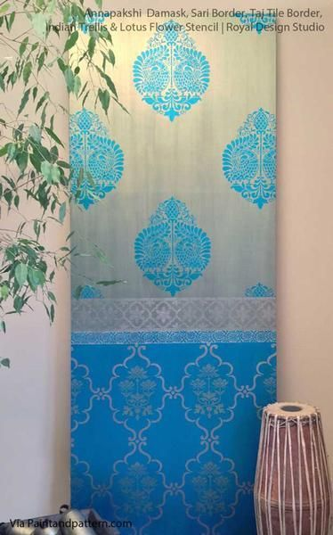 Decorate Your Home Decor With Indian Designs And Trellis Patterns