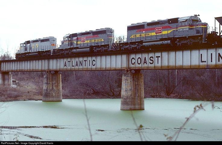 RailPictures.Net Photo: L&N 3600 Louisville & Nashville EMD SD40-2 at Augusta, Georgia by David Harris