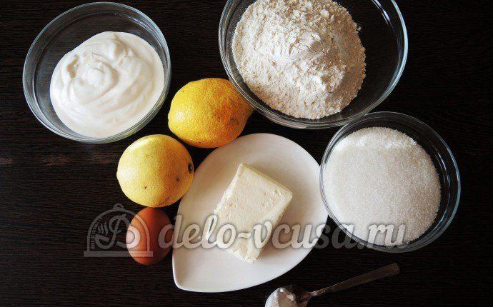 Пирог с лимоном: Ингредиенты