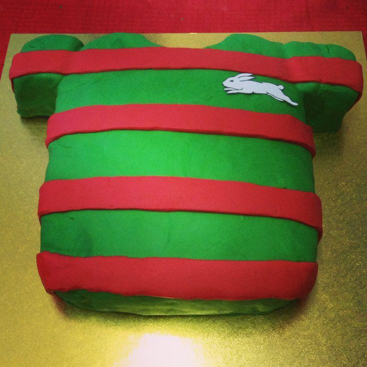 Rabbitohs cake