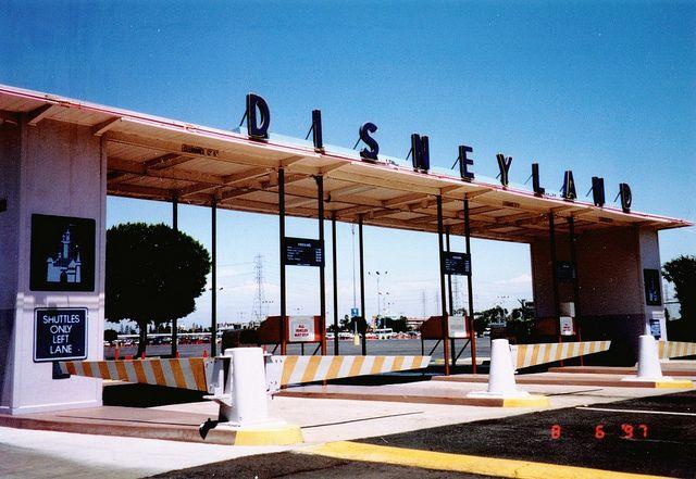 Old Disneyland Parking Lot Entrance. The fun starts here! | worldofmateo via Flickr