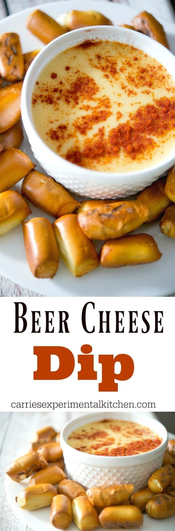 Beer Cheese Dip made with Blue Moon Belgian White beer, Colby Jack and sharp White Cheddar cheeses and hot sauce. Dip your favorite tortilla chip or pretzels for a tasty game day snack.  #dip #cheese #beer #appetizer #gameday #football