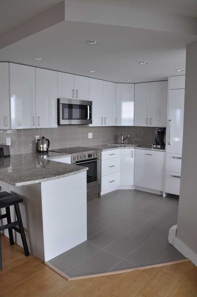 Small Kitchen Design Condo
