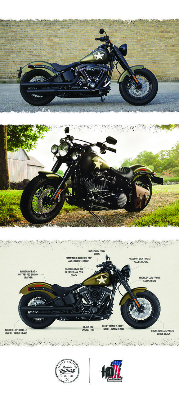 Nothing gets more respect on the street than power. | 2016 Harley-Davidson Softail Slim S