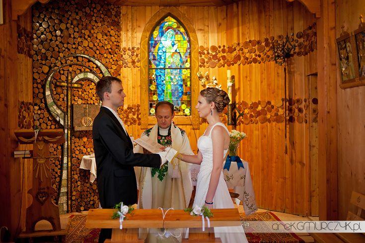 ślub w górach Kaplica św. Anny na Płazówce