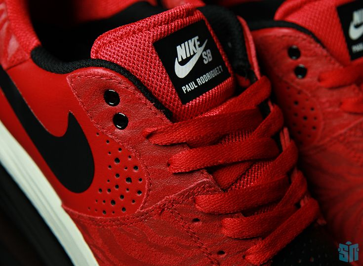 all red foamposites nike sb lunarlon