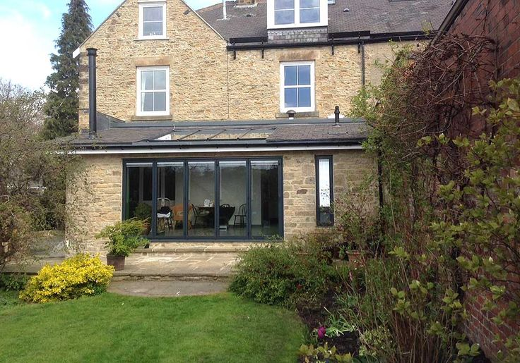 SF55 aluminium bifolding door installed by IDSystems & 11 best Products - SUNFLEX SF55/75 aluminium bifold doors images on ...