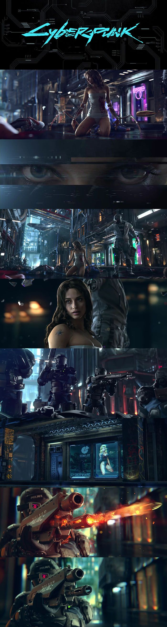 Best. Trailer. Ever.  World (VIDEO): http://futuristicnews.com/cyberpunk-2077-mike-pondsmith-about-the-cyberpunk-world-video/