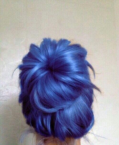 Indigo Hair--I think this one is my favorite  I lurve this colour and could mix it up no prob!