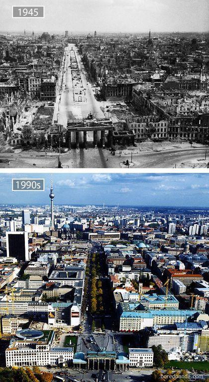 Ciudades del mundo, antes y ahora - Taringa!