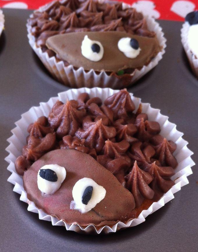 Wildlife cupcakes