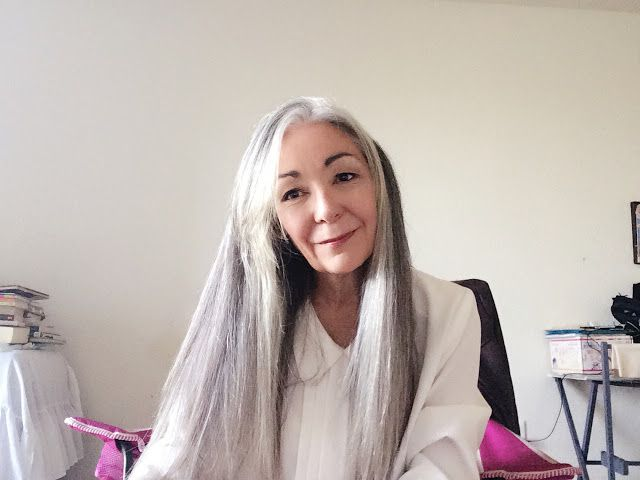 silver witch hair