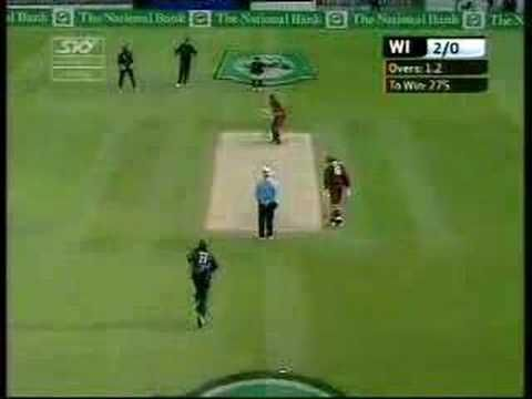 An absolute ripper of a yorker from New Zealand's Shane Bond against the West Indies.