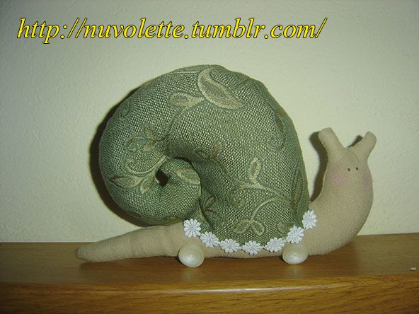Tilda Snail! I love this!