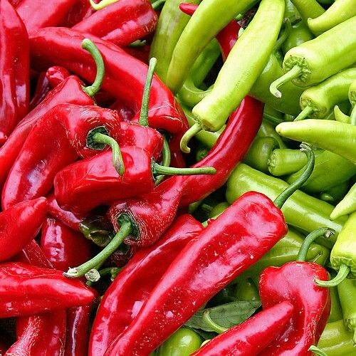 5. Chili Peppers These peppers are usually found in Chinese, Thai, and Indian dishes. The main compound in chili peppers is capsaicin, which when digested increases your body's temperature which in turn increases your metabolism so that you will burn more calories. Add these spicy peppers to a yummy stir fry for an added kick.