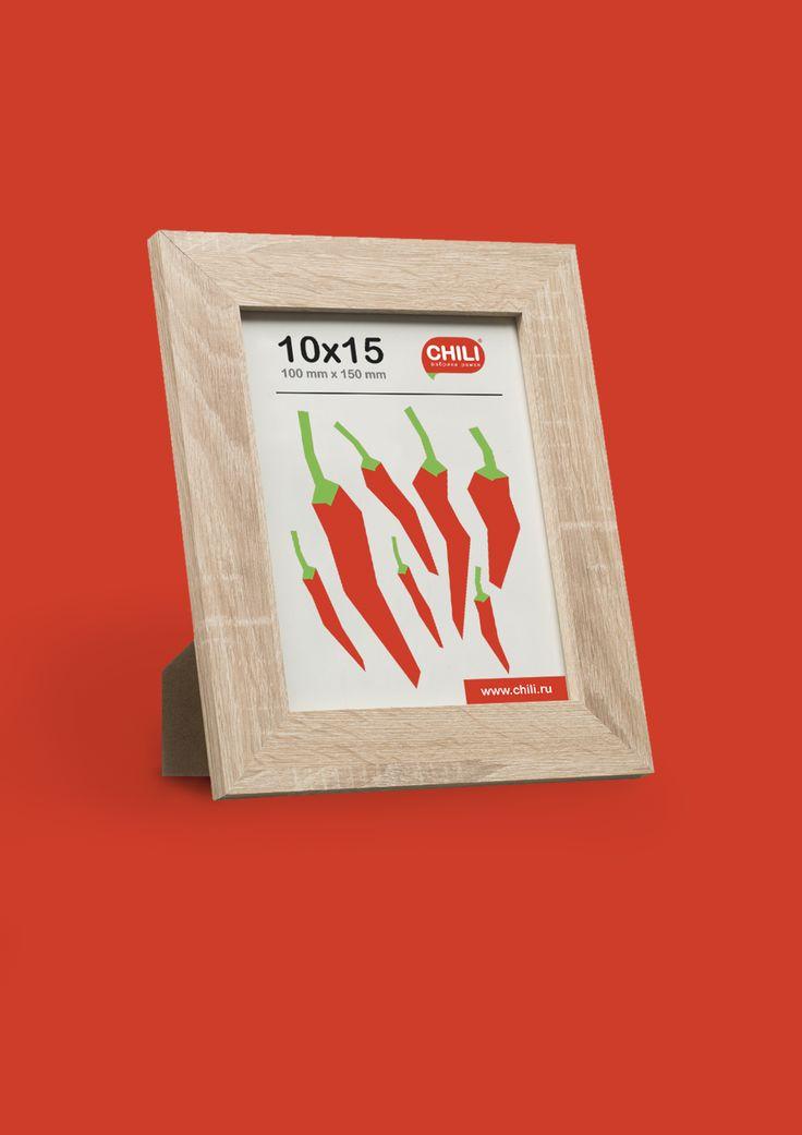 Этикетка для компании CHILI