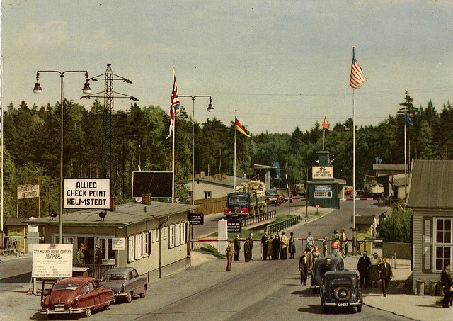 Helmstedt Check Point by jimmerbond, via Flickr