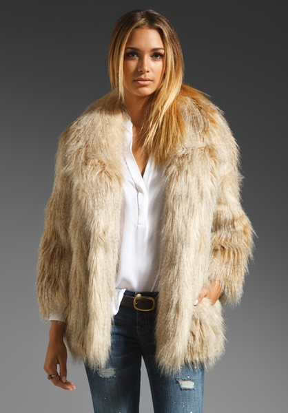 Faux Fur Jacket by Juicy Couture