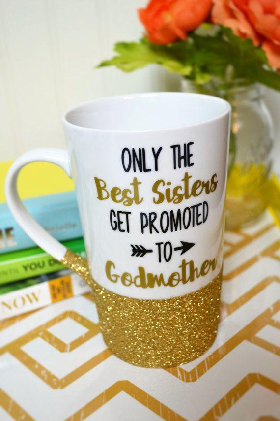 Godmother Gift for Sister // Godmother Coffee Mug // Best