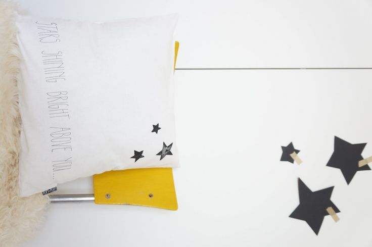 pillow case Stars shining ...