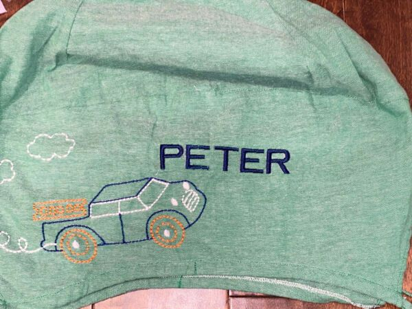 Pottery Barn Kids Green Car Large Size Easter Basket Liner Peter New In 2020