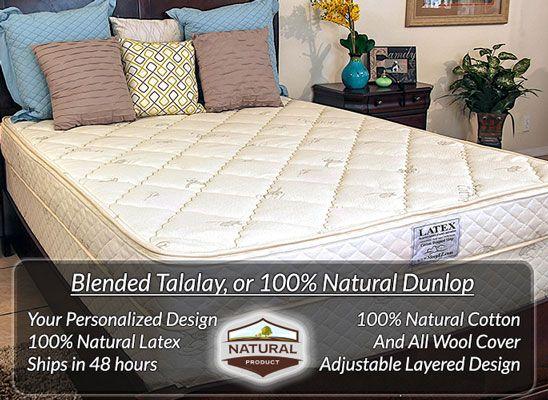 $1650.00 ***Natural Latex Mattress SleepEZ