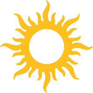 Image result for sun silhouette