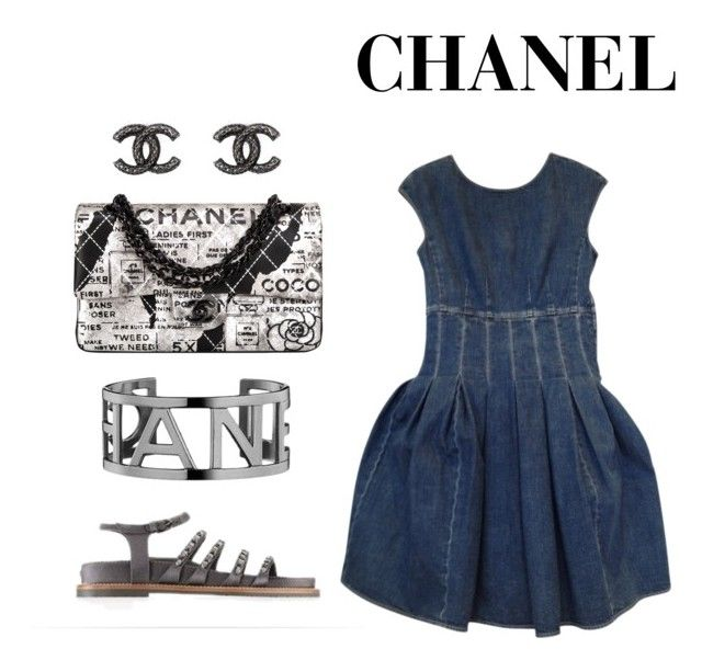 """Flirting with Chanel"" by doubleblonded on Polyvore"