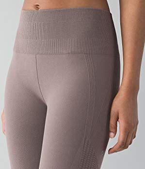 5d56db20d Amazon.com  Lululemon Flow   Go Crop III Yoga Pants (Cool Cocoa