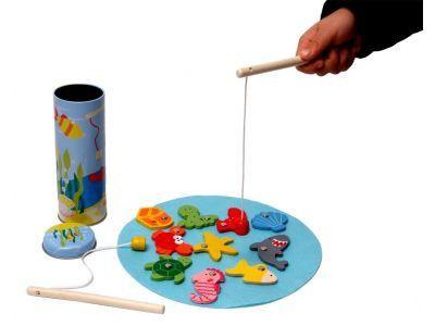 Fishing Game in Tin Box