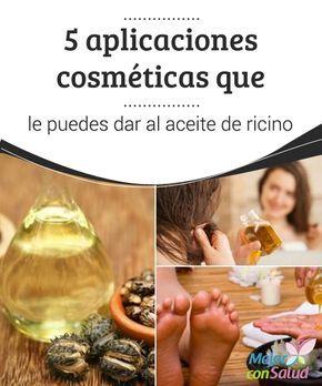5 #aplicaciones cosméticas que le puedes dar al #aceite de ricino Por sus propiedades y nutrientes esenciales, el aceite de ricino es un producto al que le podemos dar varios usos #cosméticos. ¡Descúbrelos! #Belleza