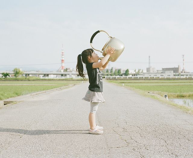This is an adorable series of a daughter captured through her father's eyes.