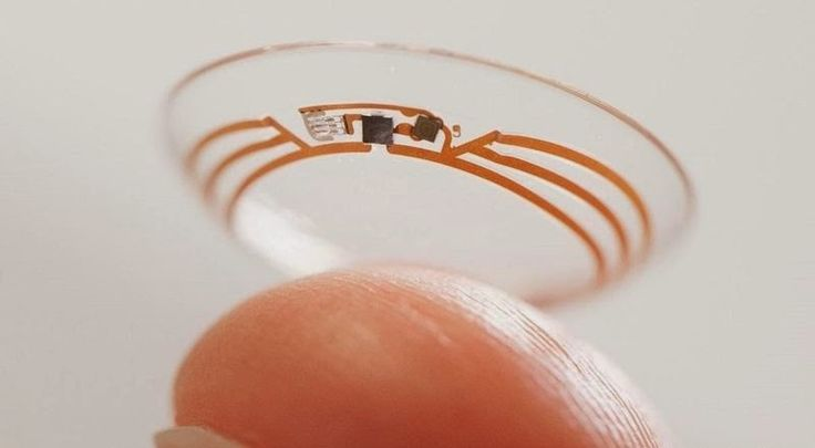Google is working on the development of a contact lens with micro embedded cameras