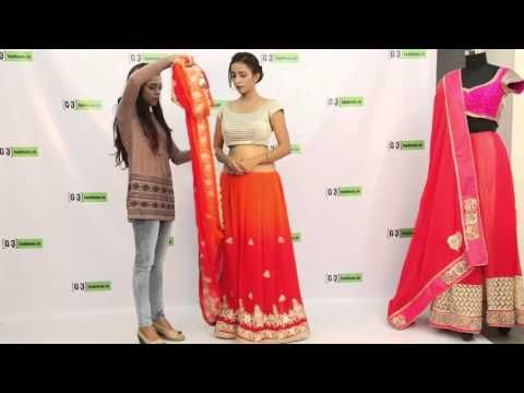 How to wear Saree for Wedding in 2017 - 3 New Styles You Must try - YouTube