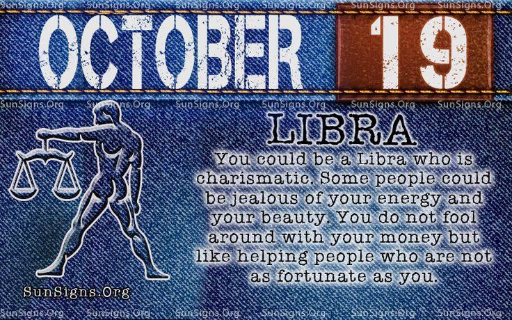 october 19 libra birthday calendar
