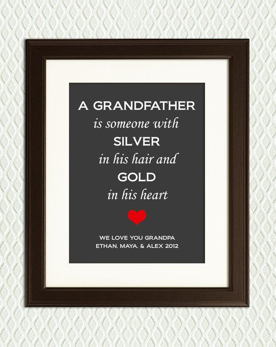 Best 25+ Grandfather gifts ideas on Pinterest | Dad gifts, Grandpa ...