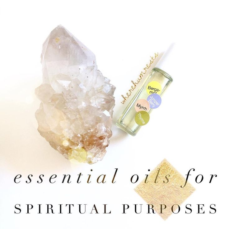 Did you know that you can also use Essential Oils to up the vibe of your space (and clear it), to…