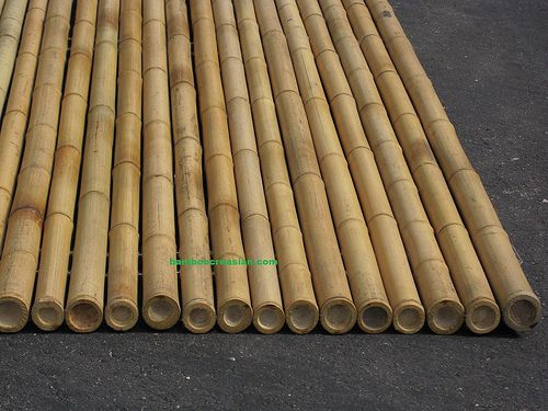 Capped On Top To Prevent Water/ Moisture: Creasianu0027s Bamboo Fencing (rolls)  Rolled Bamboo Fence Fencing/garden Fence/yard Fences Decorative Bamboo  Fencing