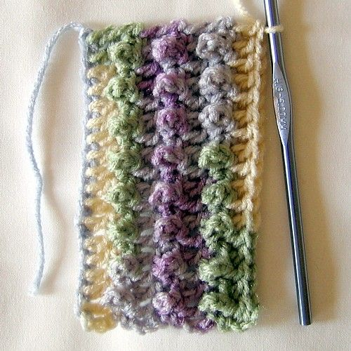 Triple Crochet Loops | Crochet | Pinterest | Stitches ...