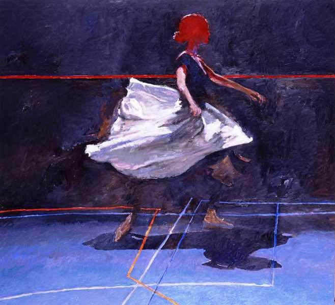 Robert Heindel ~ 'Red Headed Dancer'