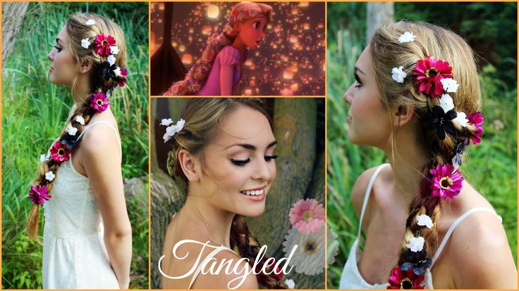 Rapunzel's Braid from Tangled Hair Tutorial! - Jackie Wyers